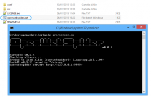 Execute openwebspider-application-server